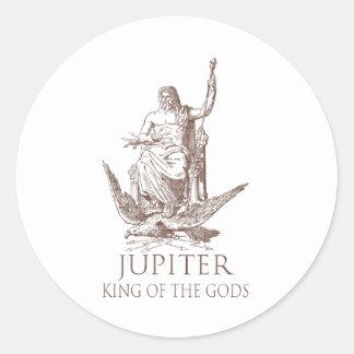 Júpiter Etiquetas Redondas