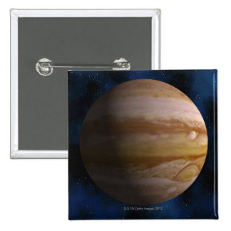 Jupiter Pinback Button