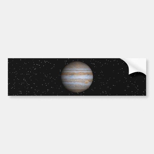 Júpiter - productos múltiples pegatina de parachoque