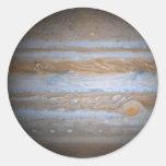 Júpiter - productos múltiples etiquetas redondas