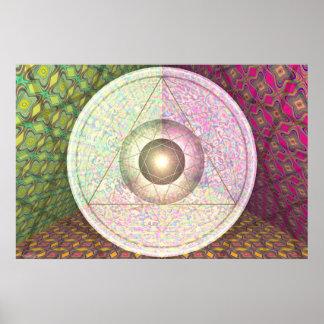 Jupiter, Saturn And Uranus Per Martineau Poster