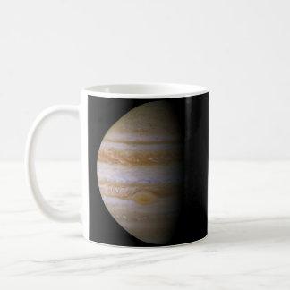 Júpiter según lo visto por la punta de prueba de e tazas