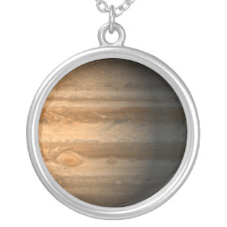 Jupiter Silver Plated Necklace