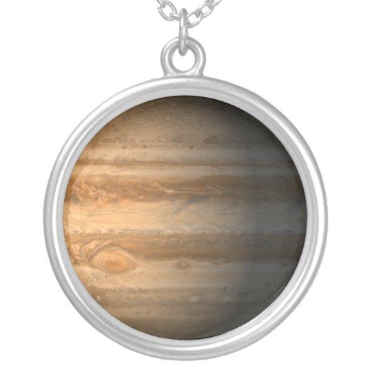 Jupiter Silver Plated Necklace