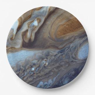 Jupiter Storm Paper Plate