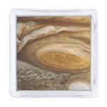 Jupiter Storm Silver Finish Lapel Pin