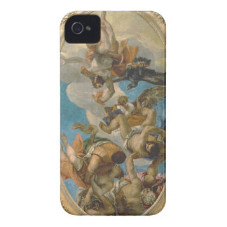 Jupiter Striking Down the Vices (oil on canvas) iPhone 4 Case-Mate Cases