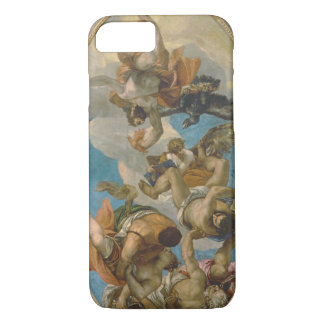 Jupiter Striking Down the Vices (oil on canvas) iPhone 7 Case