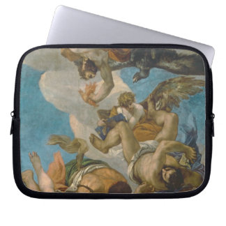 Jupiter Striking Down the Vices (oil on canvas) Laptop Sleeve