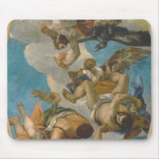 Jupiter Striking Down the Vices (oil on canvas) Mouse Pad