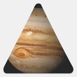Jupiter Triangle Sticker