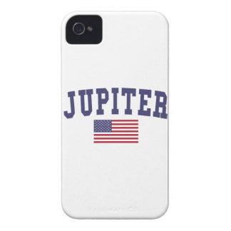 Jupiter US Flag iPhone 4 Case-Mate Case