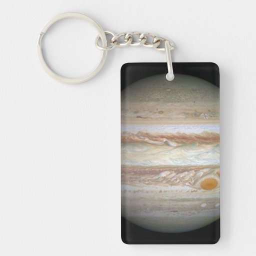 Jupiter (WFC3:UVIS, April 21, 2014) Rectangular Acrylic Keychains