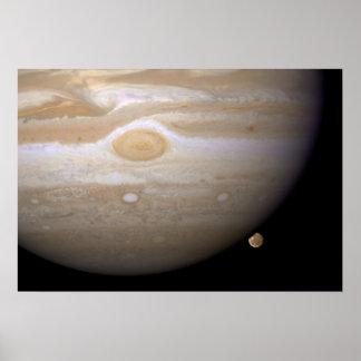 Júpiter y Ganymede Poster