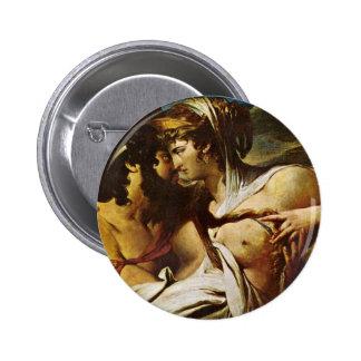 Júpiter y Juno en el soporte Ida, detalle por la b Pins