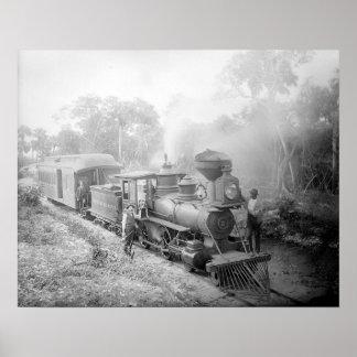 Júpiter y lago digno del ferrocarril 1897