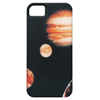 Júpiter y los satélites galileos funda para iPhone SE/5/5s