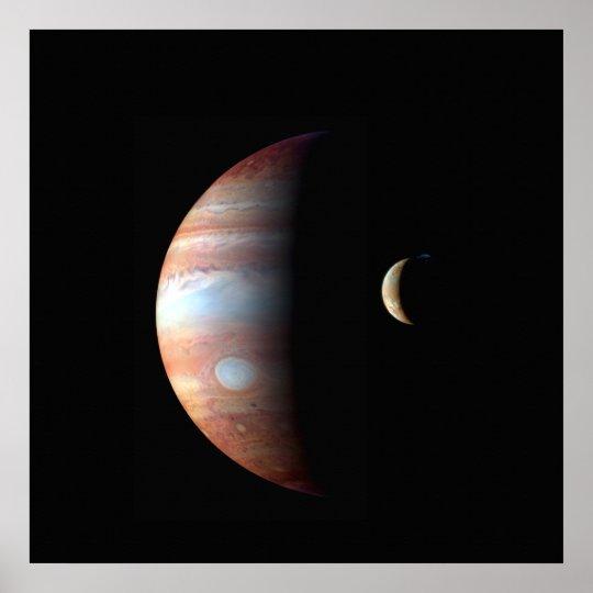 Júpiter y poster del Io Póster