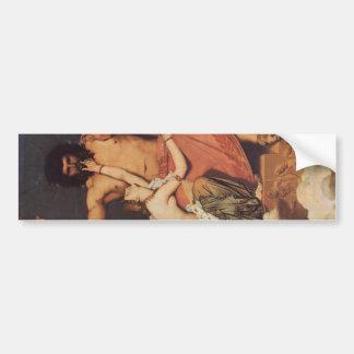 Júpiter y Thetis Pegatina De Parachoque