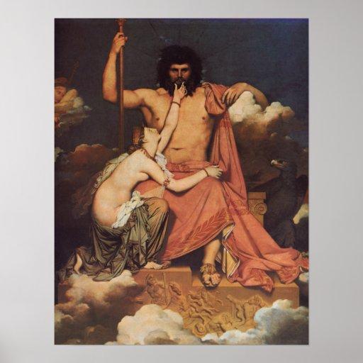 Júpiter y Thetis Póster