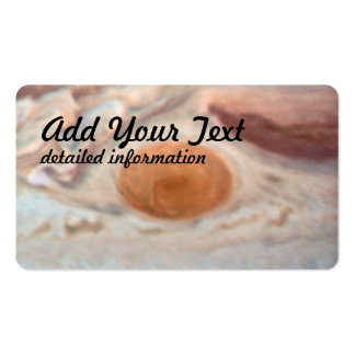 Jupiter's Great Red Spot (2014, WFC3:UVIS) Business Card Template