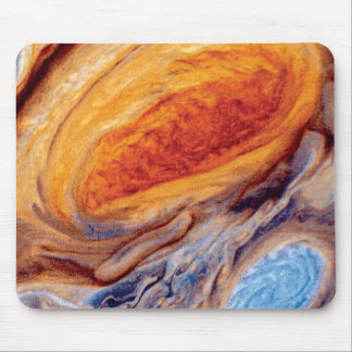 Jupiter's Great Red Spot Mouse Pad