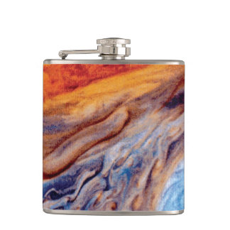 Jupiter's Great Red Spot - NASA Voyager Photo Flask