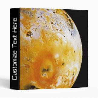 Jupiter's Moon Io 3 Ring Binder