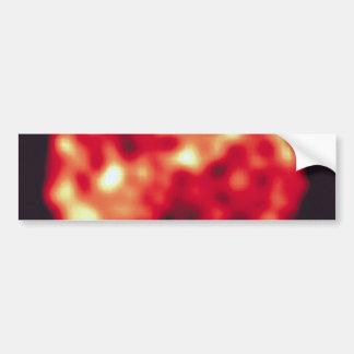 Jupiter's Moon, Io, In Ultraviolet Light Car Bumper Sticker