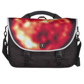 Jupiter's Moon, Io, In Ultraviolet Light Commuter Bags