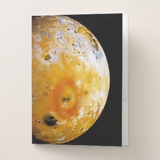 Jupiter's Moon Io Pocket Folder