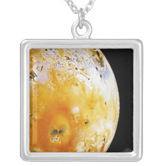Jupiter's Moon Io Silver Plated Necklace
