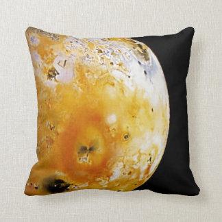 Jupiter's Moon Io Throw Pillow