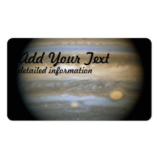 Jupiter's New Red Spot Business Cards