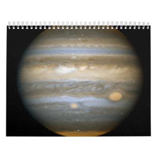 Jupiter's New Red Spot Wall Calendar