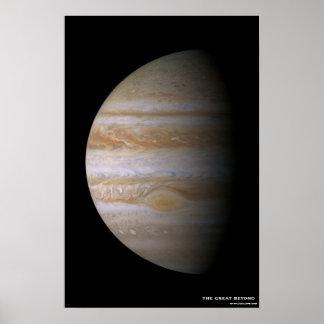 Jupiterscape Poster