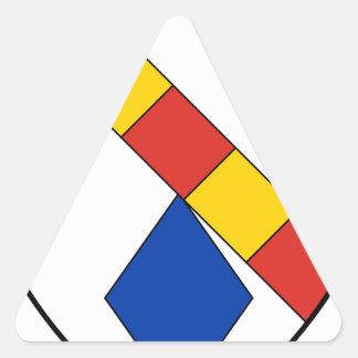 Juppleux Triangle Sticker