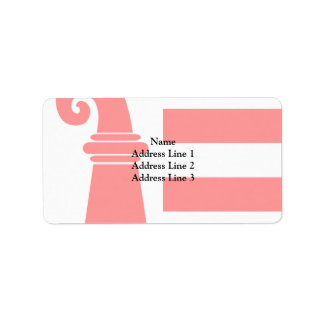 Jura, Switzerland Address Label