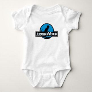 Jurachick World - The Coop is Open Baby Bodysuit