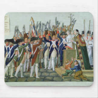 Juramento de los distritos, febrero de 1790 alfombrillas de raton