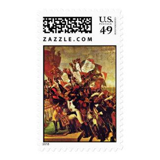 Juramento del ejército para el emperador del sellos
