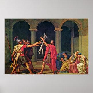 Juramento del Horatii de David Jacques-Louis el m Impresiones