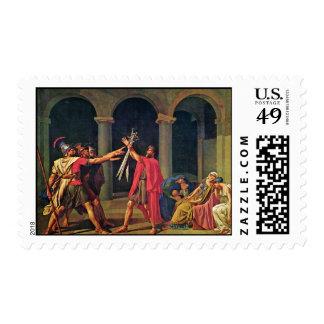 Juramento del Horatii de David Jacques-Louis (el Envio