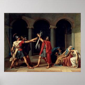 Juramento del Horatii Póster