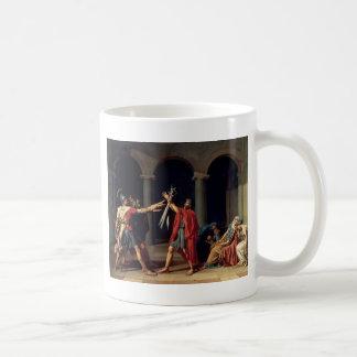 Juramento del Horatii Taza De Café
