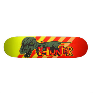 Jurassic Dinosaur Hunter Skateboard