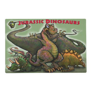 Jurassic Dinosaurs Placemat