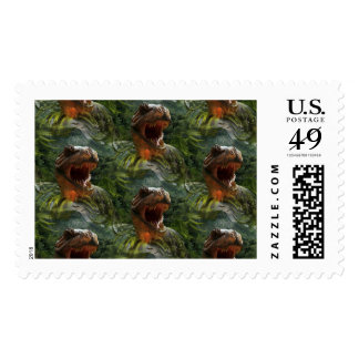 jurassic dinosaurs postal postage stamps