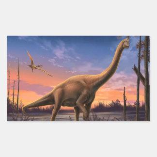 Jurassic Dinosaurs Stickers