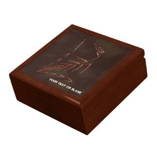 Jurassic Fossil Jewelry Box